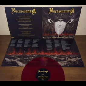 NECROMANTIA - The Sound of Lucifer Storming Heaven (Re-issue) - Ltd Gatefold LP - red 12