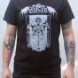LVXCAELIS - Liberation - limited T-shirt w/ silver print - XL