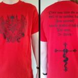 LVXCAELIS - Sigil Tshirt (RED)