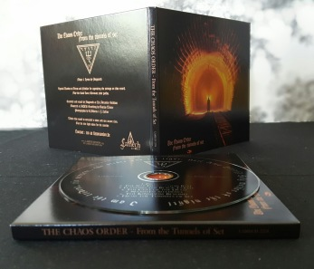 THE CHAOS ORDER - From the Tunnels of Set CD - Digipack CD