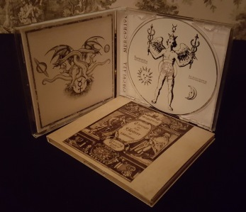 SAPIENTIA - Through the first Sphere of Saturnus + Circulata Mercurius CD bundle - CD + Digipack CD (Bundle)
