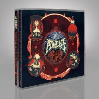 "ATHEIST – ""Original Album Collection"" 4-CD BOX - 4CD BOX"