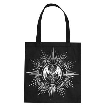 HETROERTZEN - Cotton Bag (WHITE PRINT) -