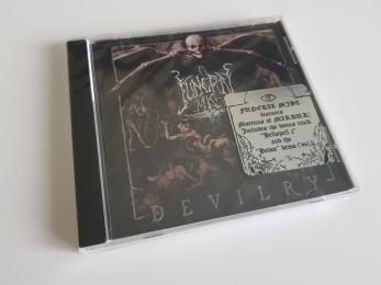 "FUNERAL MIST – ""Devilry"" CD - CD jewelcase"