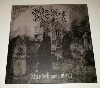 DIE KUNST DER FINSTERNIS - Alter Schwarz Metall LP - Back 12