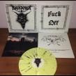 """ARCKANUM Fenris Kindir 12"""" LP - Yellow w/ white + black splatter 12"""