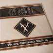 "REVENGE Victory. Intolerance. Mastery 12"" LP (bronze edition)"