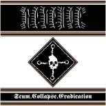"REVENGE Scum. Collapse. Erradication 12"" LP (bronze edition)"