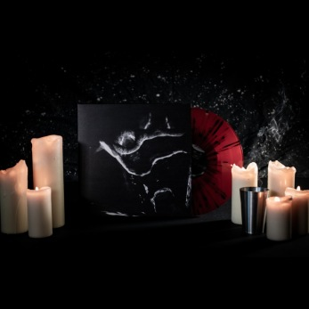 "HWWAUOCH - s/t 12""LP - Red/ black splatter 12"