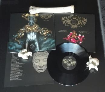 "SAQRA'S CULT - The 9th King 12""LP - Black 12"