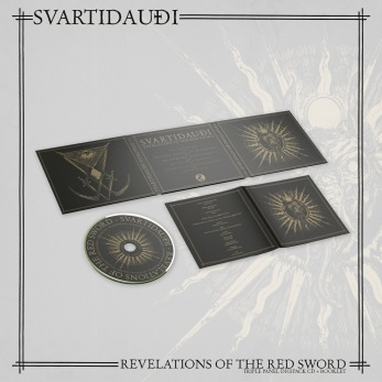 SVARTIDAUDI – Revelations of The Red Sword Digipack CD - Digipack CD