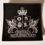 OMINOUS RESURRECTION - woven patch
