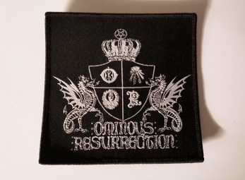 OMINOUS RESURRECTION - woven patch - woven patch