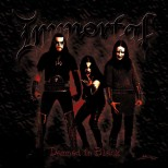 IMMORTAL - Damned In Black Ltd Gatefold LP