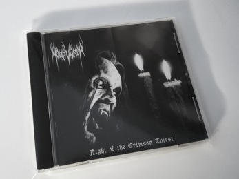 NATTSVARGR – Night of the Crimson Thirst CD - CD jewelcase