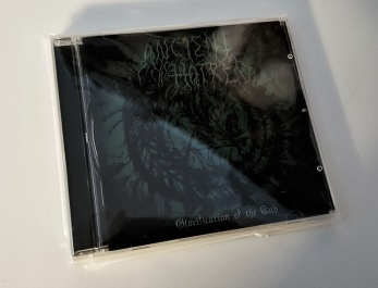 ANCIENT HATRED – Glorification of the End CD - CD jewelcase