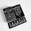 MALHKEBRE - Satanic Resistance MC - pro tape + patch