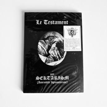 SEKTARISM -Le Testament CD Digipack A5 - CD Digipack A5