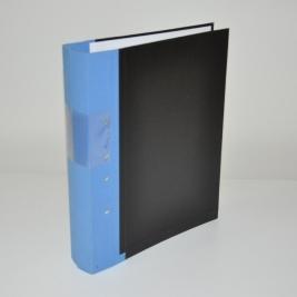 Gaffelpärmar 60 mm - Blå rygg