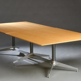 Konferensbord, tvådelat ask - 290 cm