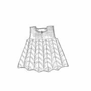 Isager Babyklänning April