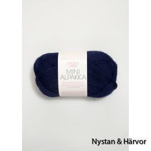 Minialpakka marinblå 5575