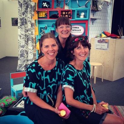 Camilla, Frida och Linda