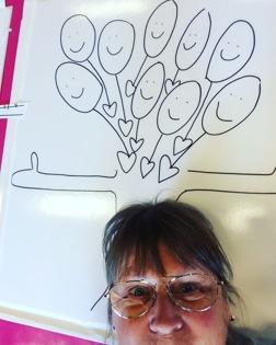 """Ellinor på #årekulturskola gör en #spillfie """"Spilloteket gör mig ❤️-lig!"""" #åre #kultur #spillmaterial #estetiskalärprocesser"""