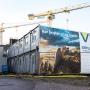 Relamskylt, Byggfirma, Utomhus, Halmstad, Halland