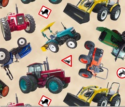 Traktorvarning ljust FQ 45:- alt 139:-/meter