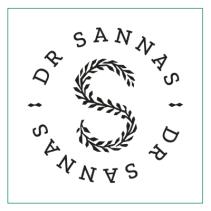 Distribueras av Dr Sannas AB