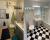 Före och efter rum badrum