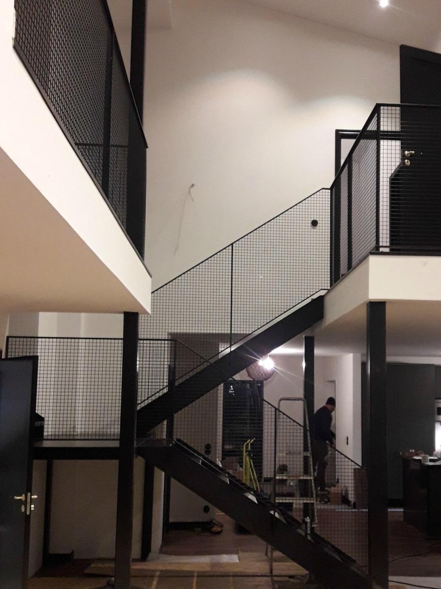 Metalltrappa Uppsala