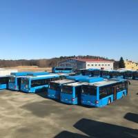 Blå Linjebussar och verkstad 180716