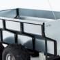 Timmervagn ATV med flak, kran & winch