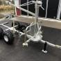 Timmerv ATV med flak, kran & winch