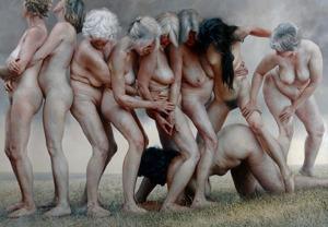 Målning och copyright: Aleah Chapin