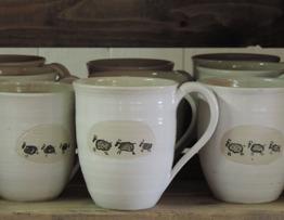 Fårmugg keramik
