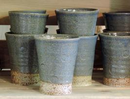 Mugg Blåbär keramik