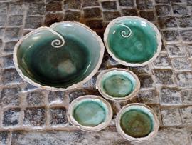 Keramik skålar & fat