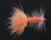 Orange Bead head Woolly Bugger
