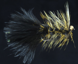 Yellow Grizzly Beadhead Woolly Bugger