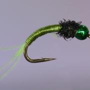 Copper Larva Green