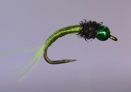 Copper Larva Green