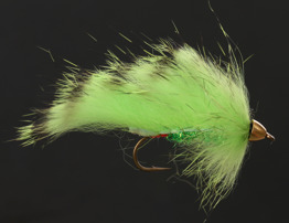 Zonker Black Barred Chartreuse