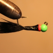 Isfiskejigg Black/greenhead