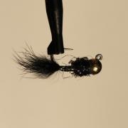 Jiggfluga Black hullinglös