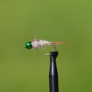 Hare´s Ear BH Hullinglös metalic green