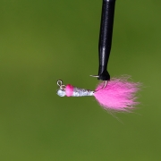 Isfiskejigg Silver/pink