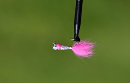Tungstens jigg Silver/pink - Tungstensjigg Silver/pink str 12